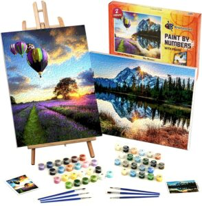 acrylic painting kit